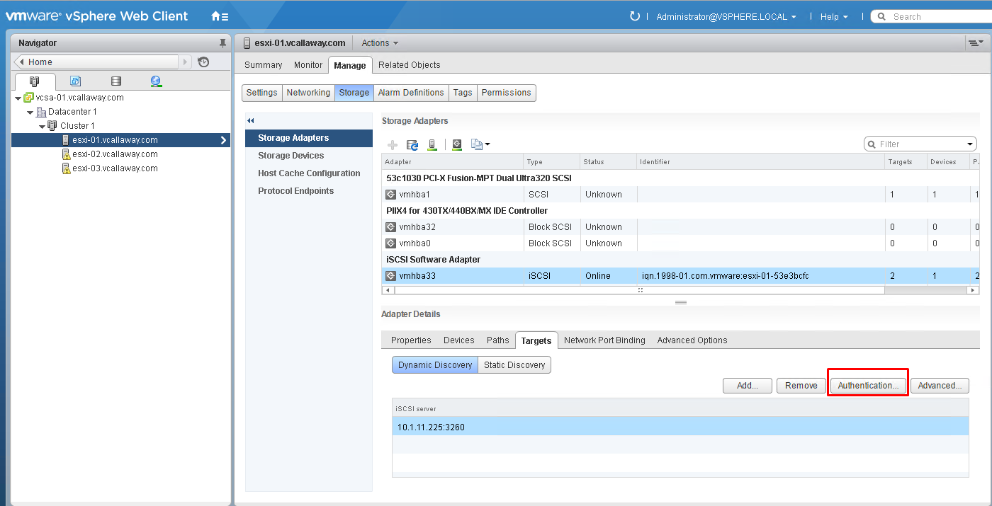 Objective 3.1 - Manage vSphere Storage Virtualization - Part 2