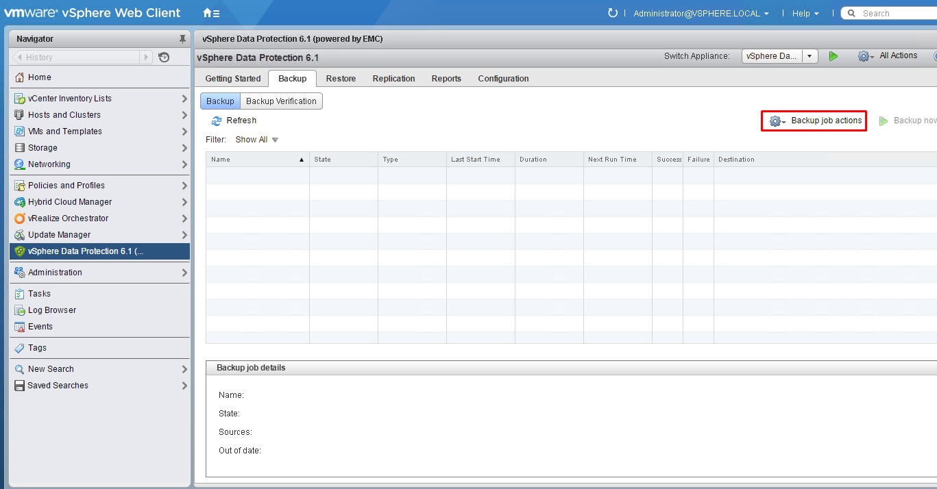 vSphere Data Protection (VDP) - install, configure, manage ...