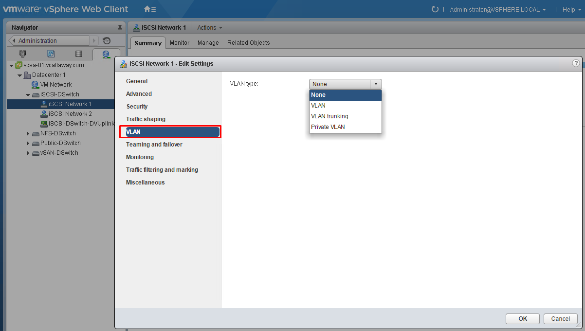 Objective 7.2 - Troubleshoot vCenter Storage & Network Issues