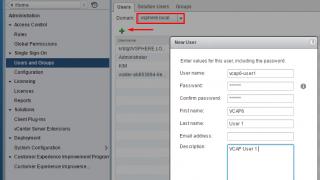VCAP6: 1.2 - Deploy/Configure Core Management Infrastructure Components - Part 2