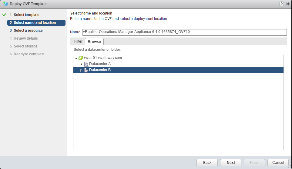 Install/Configure vRealize Operations Manager - Part 1